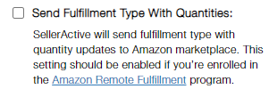 AmazonFulfillmentType