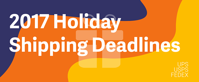 "Image showing text that reads ""2017 holiday shopping deadlines"""