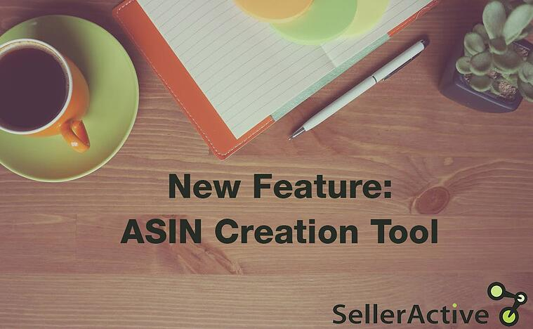 New Feature ASIN Creation Tool
