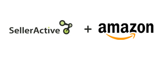 SellerActive and Amazon logos