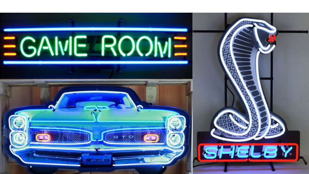 Garage Art Neon Signs