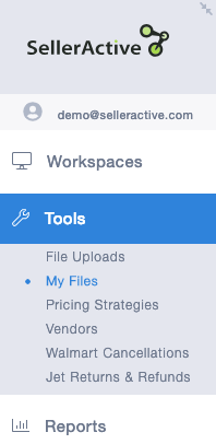 Tools Panel, My Files